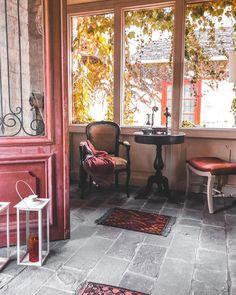 Beautiful Hotels, Hotel S, Entrance, Greece, Cozy, Patio, Interior Design, Outdoor Decor, Instagram