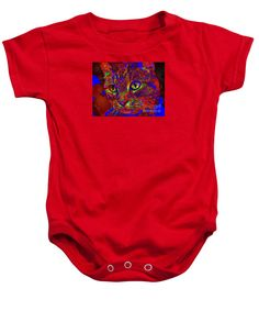 Purchase a baby onesie featuring the image of Looking for an Owner. Pet Series by Rafael Salazar.  Available in sizes S - XL.  Each onesie is printed on-demand, ships within 1 - 2 business days, and comes with a 30-day money-back guarantee.