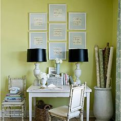 Decorate with Green   Pair with White   SouthernLiving.com