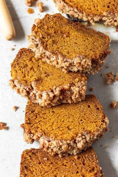 Best Pumpkin Bread Recipe, Moist Pumpkin Bread, Pumpkin Recipes, Healthy Pumpkin, Apple Bread, Banana Bread, Fall Dessert Recipes, Köstliche Desserts, Delicious Desserts