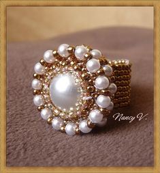 Ring Barok, didn't see a pattern, but like the look of this ring.