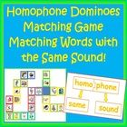 Use these Illustrated Homophone Dominoes Cards to keep your students engaged in a fun activity that encourages reading and matching. This game is... $