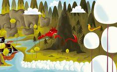 Minas adventures App by Christian Lindemann, via Behance