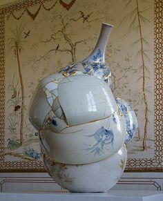 Sculpture Clay, Ceramic Art, Sculptures, Inspiration, Kintsugi, Sculpture, Art, Contemporary Art, Sculpting