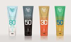 Banana Boat Sunscreen package design on Behance
