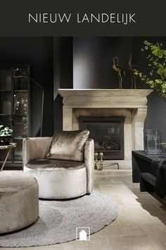 Dark Walls, Interior Decorating, Interior Design, Formal Living Rooms, Rustic Chic, Interior Inspiration, Modern Design, Furniture Design, New Homes
