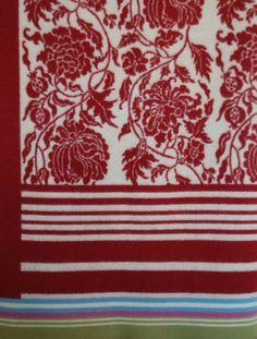 Wool blanket from Oleana, Design 203 Fair Isle Knitting, Hand Knitting, Stitch Book, Sweater Making, Diy Crochet, Knitting Designs, Beautiful Patterns, Wool Blanket, Knit Patterns