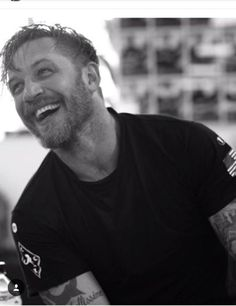 Tom Hardy shot at the gym by Greg Williams. September 12, 2017.
