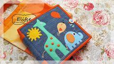 Мастерская Elifçe : Развивающая книжка №26 для самых маленьких! Crafts To Do, Felt Crafts, Binding Quiet Book, Magic For Kids, Sensory Book, Felt Quiet Books, Toddler Books, Busy Book, Sewing Toys