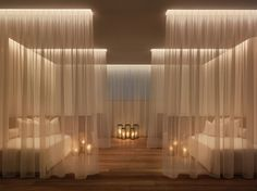Yabu Pushelberg, The Miami Beach Edition, Spa Relaxation Room | luxury boutique hotel