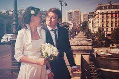 Esküvő fotózás Párizsban - Esküvői fotós, Esküvői fotózás, fotobese Wedding Dresses, Coat, Jackets, Fashion, Bride Dresses, Down Jackets, Moda, Bridal Gowns, Sewing Coat