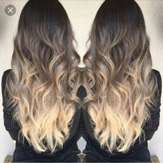 Baylage ash brown to ash blonde ombre @dawn_beer2018