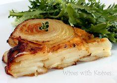 http://www.wiveswithknives.net/2010/08/02/potato-walla-walla-onion-and-gruyere-galette/   Potatoes Onion Tart recipe