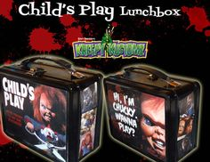 This Child's Play lunchbox. | Community Post: 31 Creepy Items Every Horror Fan Should Own