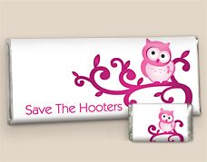 ... Hooters Candy Wrappers: Breast Cancer Awareness Promotional Products