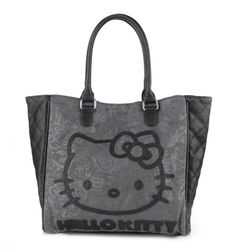 7f9cbdab6f Check out Hello Kitty Tote Bag  Quilted Floral Collection from Sanrio