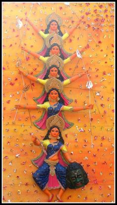 Celebration of woman power, the Durga Pujo