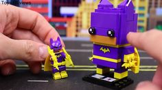 "Lego Batman Movie Brickheadz Joker and Penguin kidnap Batgirl rescued by Batman and Robin Lego Batman Movie Brickheadz Joker and Penguin kidnap Batgirl who is rescued by Batman and Robin by ToysReviewToys. The villains Penguin and Joker have kidnapped Batgirl. Batman and Robin come to save her but Penguin explodes them transforming Batgirl with Joker and Robin with Batman into Brickheadz. This video is made by the ""ToysReviewToys"" channel in collaboration with ""DisneyCarToys.  Below are the…"