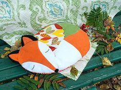 Как просто сшить подушку-Лисичку. Часть 2 - Ярмарка Мастеров - ручная работа, handmade