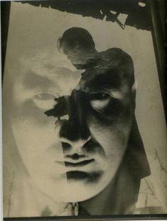 "February 8 opens the exhibition ""Russian Avant-garde isms. Monochrome Photography, Creative Photography, Black And White Photography, Art Photography, Bauhaus, Multiple Exposure, Double Exposure, Fine Art Photo, Photo Art"