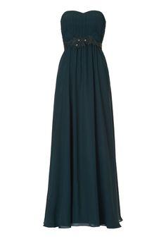 Abendkleid, Dunkelgrün - Blau, 34Vera Mont Abendkleid, Dunkelgrün - Blau