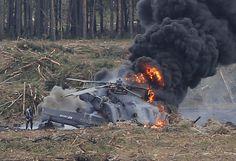 مقتل طيارين اثنين بتحطم مروحية تابعة لسلاح الجو الروسي في ريف حمص