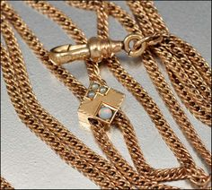 Victorian Gold Opal Pearl Pocket Watch Chain Necklace Antique | Boylerpf