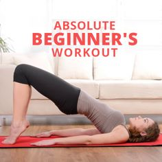 Healthy Fit Absolute Beginner's Workout - if you're an absolute beginner this is a great place to start! Fitness Workouts, Fitness Diet, Yoga Fitness, Health Fitness, Fitness Quotes, Just In Case, Just For You, Bodybuilding, Fit Girl