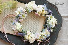 パステルカラフルガーデン花冠