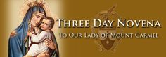 3 Day Novena to Our Lady of Mount Carmel | Our Blessed Mother | Prayers and Novenas Prayers for #infertility