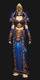 Priest Xmog - Northrend Spellweave Regalia (Recolor) - Transmog Set - World of Warcraft