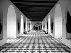 Wall Mural checkerboard floor