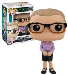 FUNKO POP! Felicity Smoak DC Universe Arrow #320 Brand New NMIB Condition #FunkoPop #Collectibles