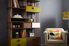 Go retro at home this autumn with the striking range of furniture from Orla Kiely's House collection