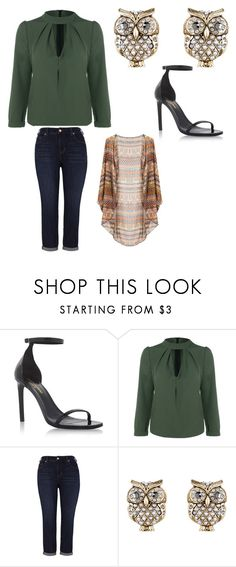 """""""look outono"""" by andretadeuporto ❤ liked on Polyvore featuring Yves Saint Laurent, Melissa McCarthy Seven7, Accessorize and plus size clothing"""