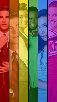 Glee lgbt wallpaper.png LOVE THISSSS