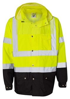 ML Kishigo Storm Cover Waterproof Rain Jacket Lime 2XL3XL ** Learn more by visiting the image link.(This is an Amazon affiliate link and I receive a commission for the sales)