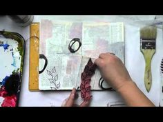 Art Journal Techniques - YouTube