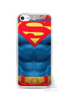 Capa Iphone 5C Super Homem #2 - SmartCases - Acessórios para celulares e tablets :)