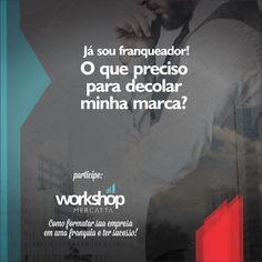 Dias 16 e 17/03, Workshop imperdível sobre formatação de franquia. E como ter sucesso neste mercado tão competitivo.  Para saber mais sobre o evento acesse: >> http://bit.ly/2E5qCMW  Serão apenas 20 Vagas, Inscrições limitadas!