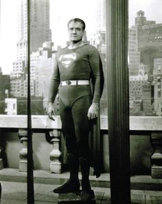 George Reeves is still Superman for so many boomers. I could not get enough of this show. The theme still gives me goosebumps!