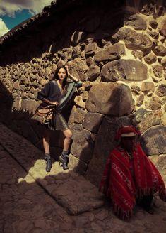 Bruna Tenorio by Jacques Dequeker: Vogue Brazil 6/2010