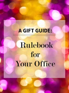 A Gift Guide Rulebook for Your Office | Levo League | Party Tips