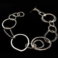Silver bracelet by Abby Filer available at Franny & Filer Jewellery shop in Chorlton - www.frannyandfiler.com - £50