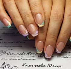 In look for some nail styles and ideas for your nails? Here's our listing of must-try coffin acrylic nails for modern women. Nail Tip Designs, French Nail Designs, French Nails, Gel Nagel Design, Perfect Nails, Manicure And Pedicure, Pedicure Ideas, Spring Nails, Toe Nails