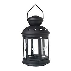IKEA ROTERA lantern for block candle Suitable for both indoor and outdoor use.