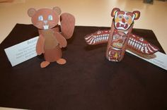Canada: Toilet Paper Roll Beaver and Totem Pole