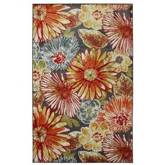Townhouse Rugs Umbrella Floral Rug, 96-Inch by 120-Inch, Multi American Rug by Mohawk http://www.amazon.com/dp/B00AF709U4/ref=cm_sw_r_pi_dp_y3SStb028X465VJE