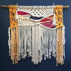This was a macrame I made for my daughter this Christmas! We both LOVED it!
