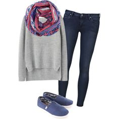 """winter casual [0.01]"" by imkristyn on Polyvore"